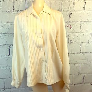 Vintage Taylor Private Editions 100% Silk Blouse